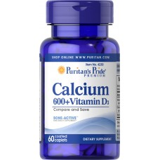 Calcium Carbonate 600 mg + Vitamin D 250 IU