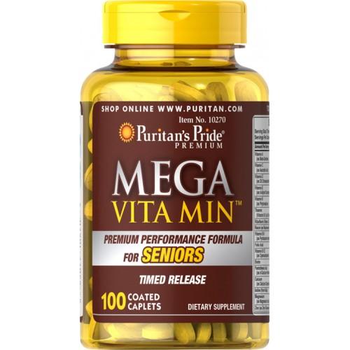 Mega Vita Min™ Multivitamin for Seniors Timed Release