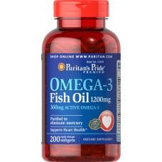 Omega-3 Fish Oil 1200 mg (360 mg Active Omega-3)