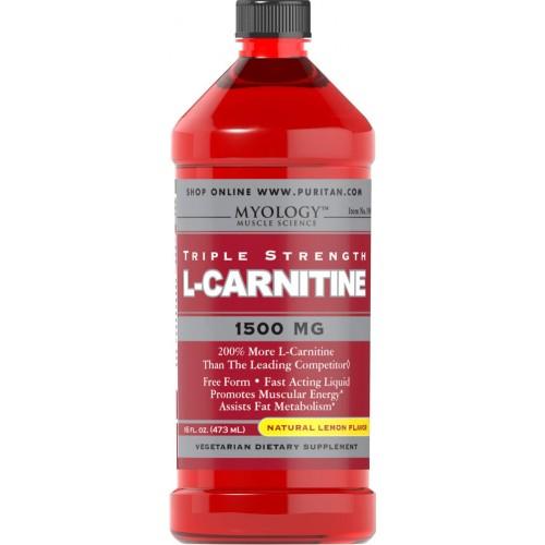 L-Carnitine 1500 mg Lemon