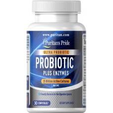 Ultra Probiotic PLUS Enzymes 25 Billion Active Cultures